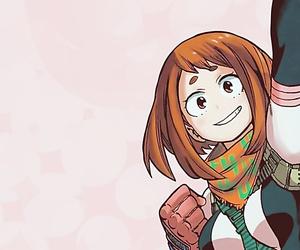 anime, manga, and uraraka ochako image