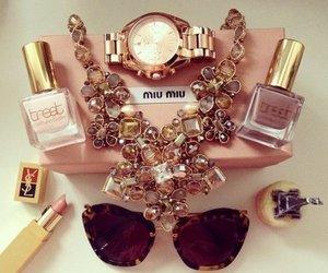 miu miu, accessories, and lipstick image