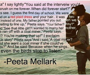 the hunger games and book quotes image