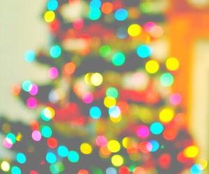 light, christmas, and christmas tree image