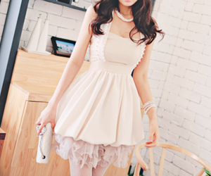 asian girl, dress, and fashion image