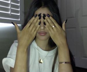 girl, baddie, and nails image