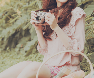 blouse, dress, and flower image