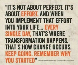 motivation, quote, and effort image