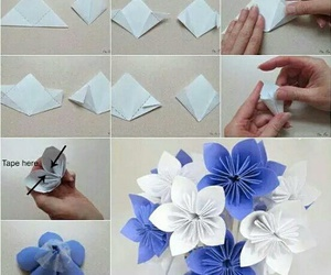 diy, flowers, and tutorial image
