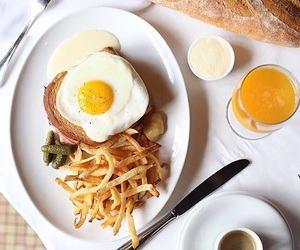 breakfast, drink, and eggs image
