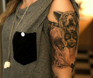 arm, indian, and tatoo image