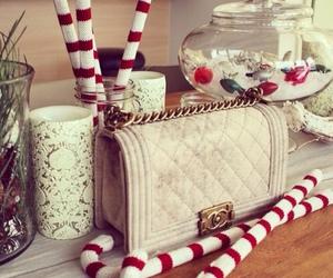 chanel, christmas, and bag image