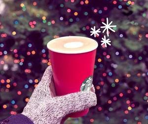 coffee, starbucks, and winter image