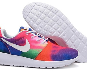 multi-colored, shoe, and unisex image