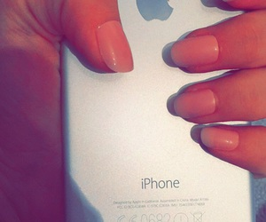 iphone, nails, and iphone6 image