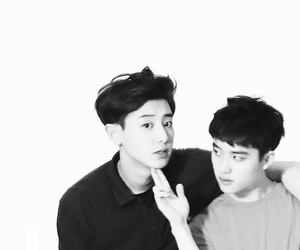 exo, chanyeol, and kyungsoo image
