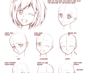 drawing, anime, and draw image
