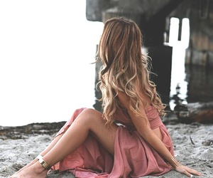 girl, dress, and fashion image