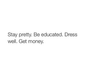 quotes, pretty, and money image
