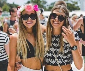 bff, sisters, and fashion friends image