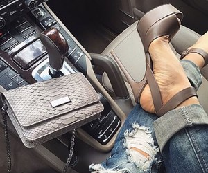 fashion, car, and shoes image