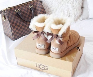bags, luxury, and uggs image