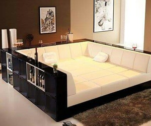 couch, house, and bed image
