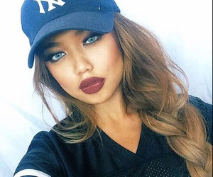 makeup, hair, and kylie jenner image
