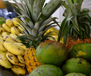 tropical, food, and fruit image