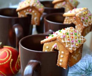 christmas, sweet, and coffee image