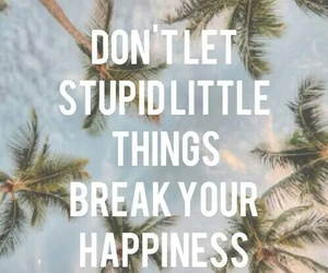 happiness, quote, and stupid image