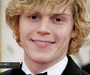 golden globe, evan peters, and american horror story image