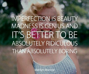 beauty, monroe, and quotes image