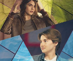 paper towns, the fault in our stars, and Shailene Woodley image