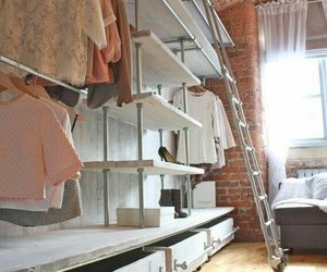 closet, ideas, and industrial image