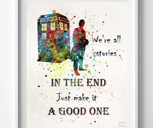 doctor who, etsy, and tardis image