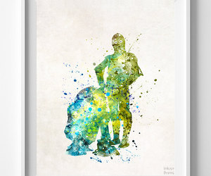etsy, modern art, and star wars image