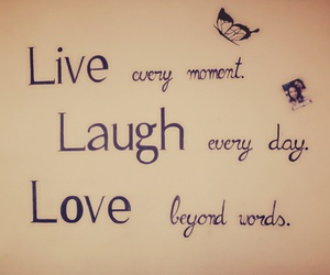 day, live, and words image