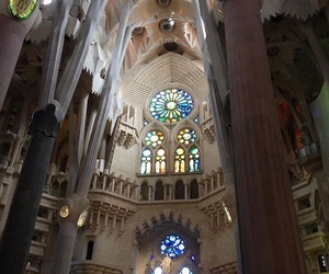 art, Barcelona, and Gaudi image