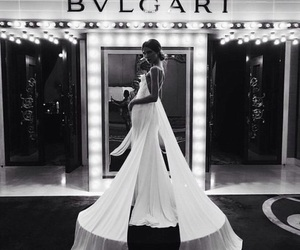 dress, fashion, and bvlgari image