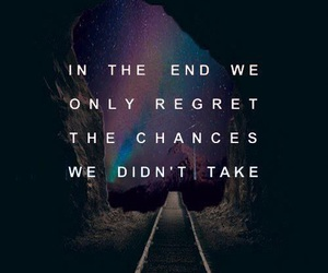 boy, quote, and chances image