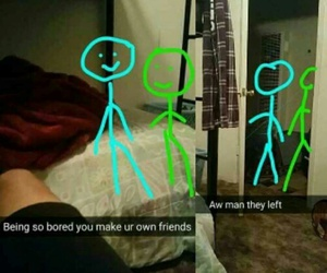 funny, friends, and snapchat image