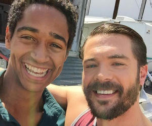 Alfie Enoch, frank, and wes image
