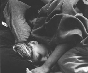 bed, cuddle, and relationships image