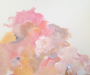 art, pink, and paint image