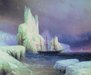 art, sea, and ivan aivazovsky image