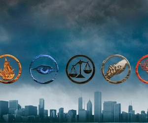 divergent, abnegation, and dauntless image