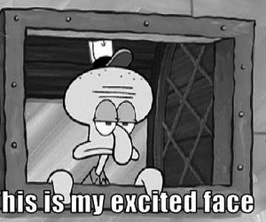 funny, spongebob, and excited image