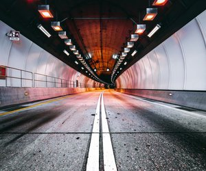 beutiful, tunnel, and colour image