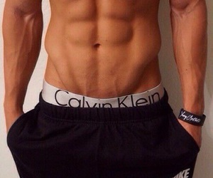 abs, fitness, and Calvin Klein image