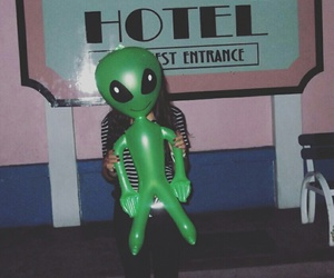 alien, Beverly Hills, and hollywood image