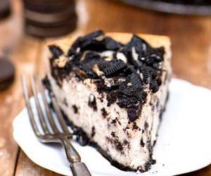 cake, oreo, and cheesecake image