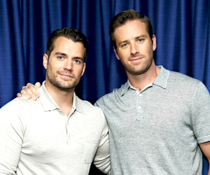Henry Cavill and armie hammer image