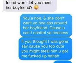 funny, boyfriend, and hoe image